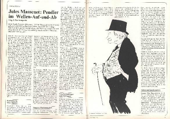 Jules Massenet: Pendler im Wellen-Auf-und-Ab