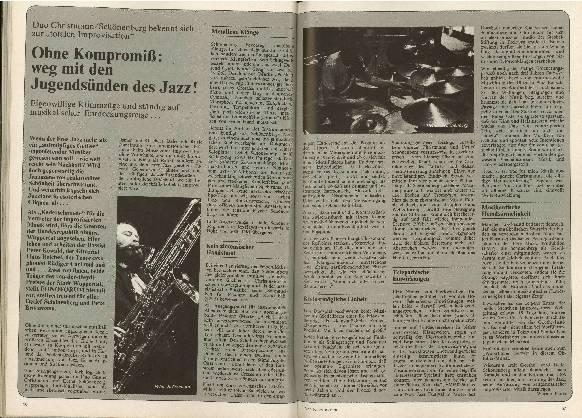 Ohne Kompromiss: weg mit den Jugendsünden des Jazz!