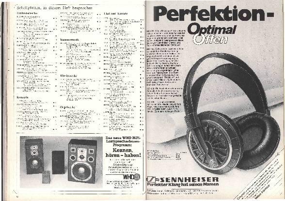 Schallplatten in diesem Heft besprochen