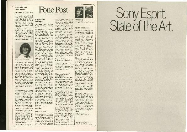 Sony-Anzeige