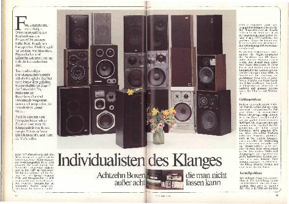 Individualisten des Klanges