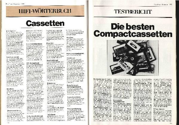 Die besten Kompaktkassetten