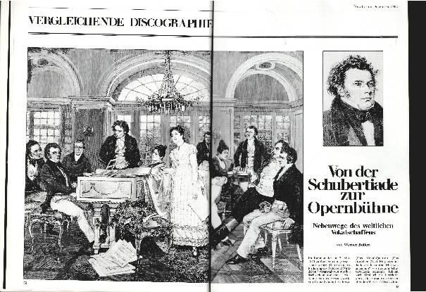Von der Schubertiade zur Opernbühne