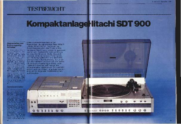 Kompaktanlage Hitachi SDT 900