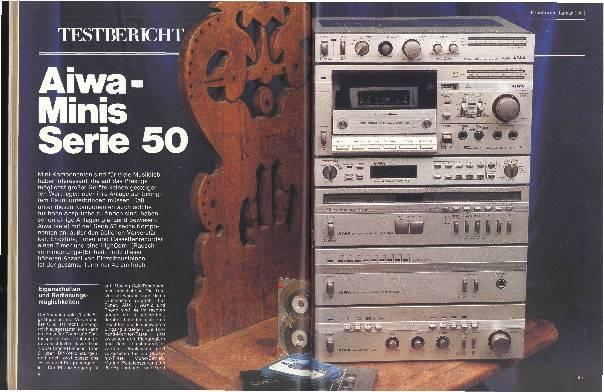 Aiwa-Minis Serie 50
