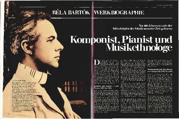 Komponist, Pianist und Musikethnologe