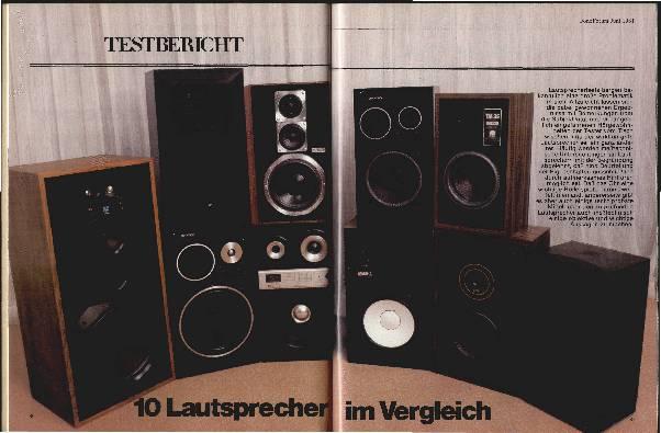 10 Lautsprecher im Vergleich