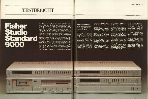 Fisher Studio Standard 9000