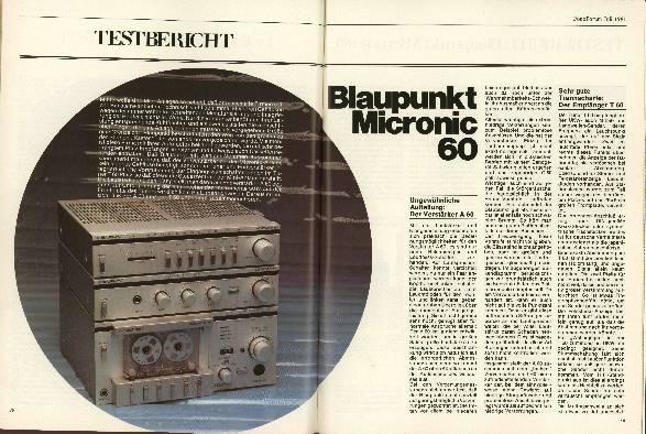 Blaupunkt Micronic 60