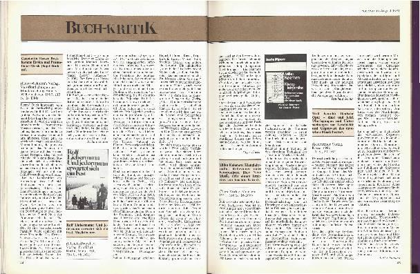 Buchkritik