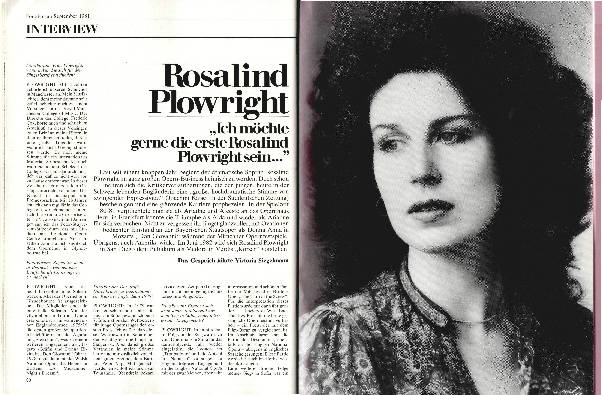 Rosalind Plowright