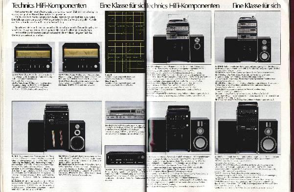 Technics HiFi-Komponenten