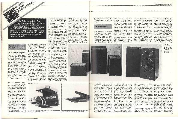 Neuheiten von der Funkausstellung