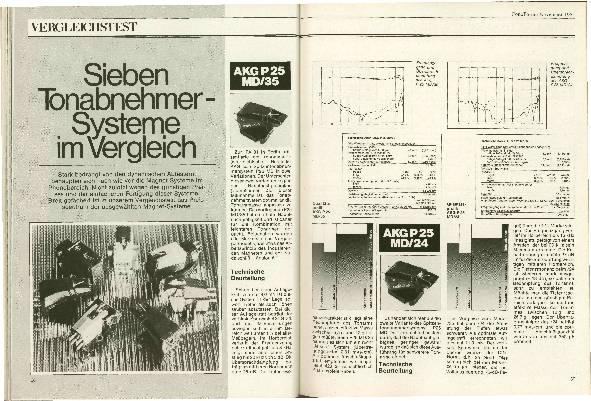 Sieben Tonabnehmer-Systeme im Vergleich