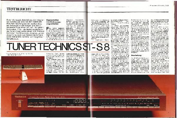 Tuner Technics ST-S8