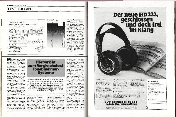 Hörbericht zum Vergleichstest Tonabnehmer-Systeme