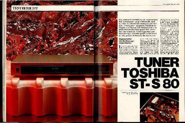 Tuner Toshiba ST-S80