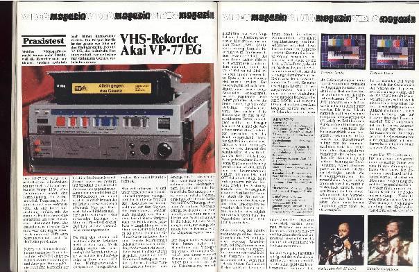 VHS-Rekorder Akai VP-77EG
