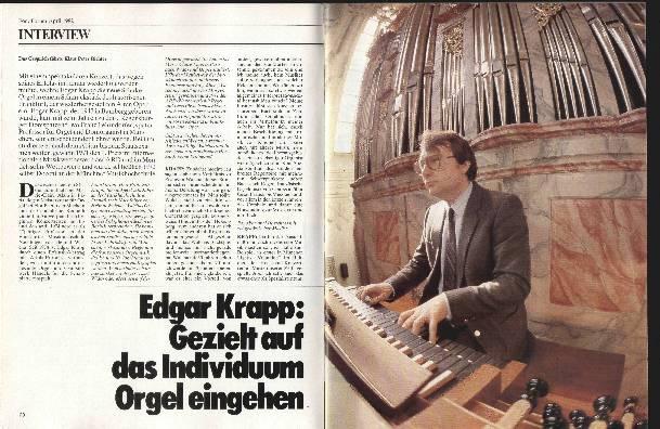 Gezielt auf das Individuum Orgel eingehen