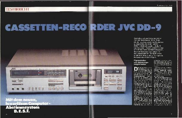 Cassetten-Recorder JVCDD-9