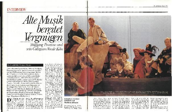 Alte Musik bereitet Vergnügen