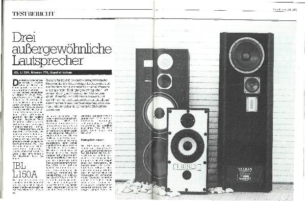 Drei außergewöhnliche Lautsprecher
