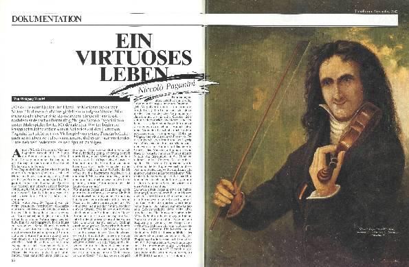 Ein virtuoses Leben