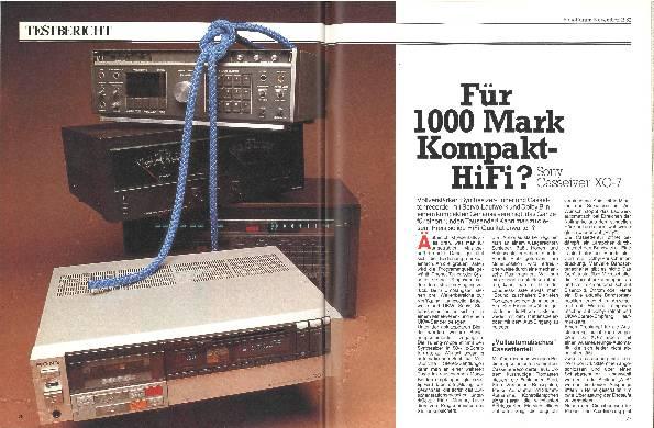 Füt 1000 Mark Kompakt-HiFi?
