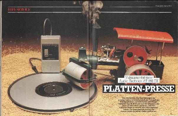 Platten-Presse