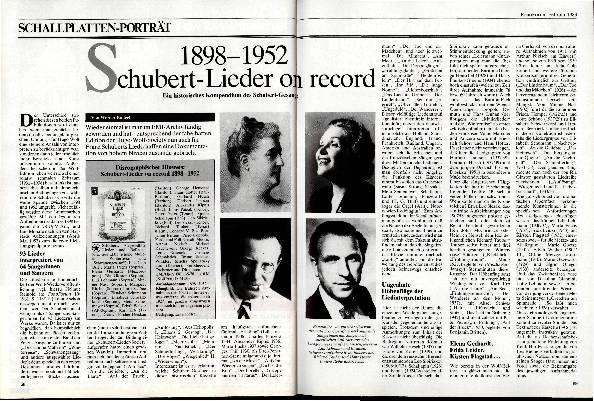 Schubert-Lieder on record