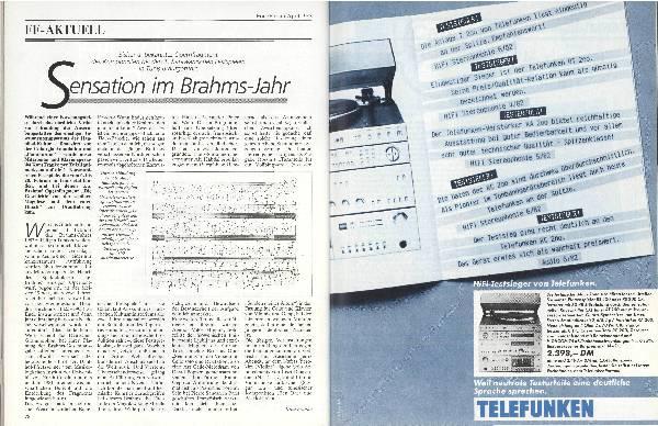 Sensation im Brahms-Jahr