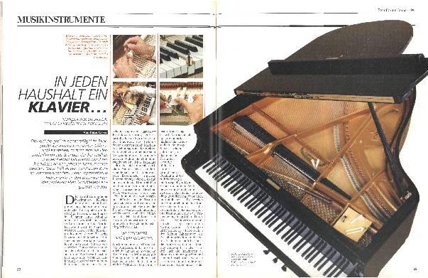 In jedem Haushalt ein Klavier