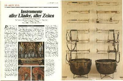 Instrumente aller Länder, aller Zeiten