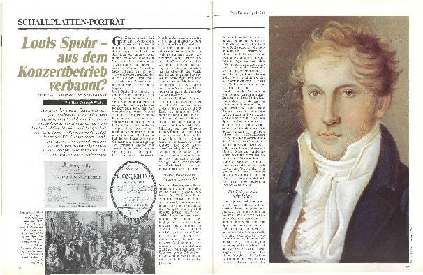Louis Spohr –aus dem Konzertbetrieb verbannt?