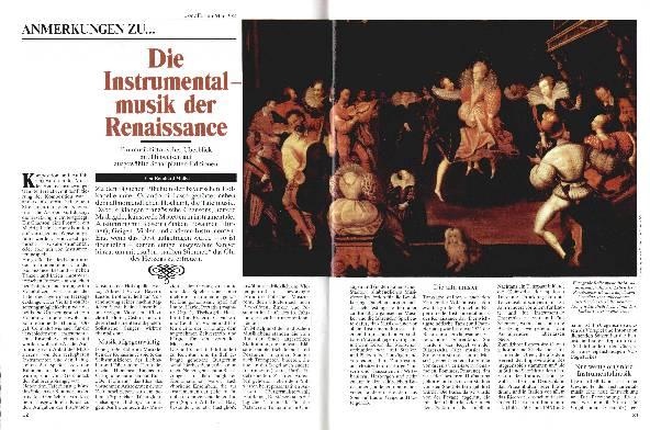 Die Instrumentalmusik der Renaissance