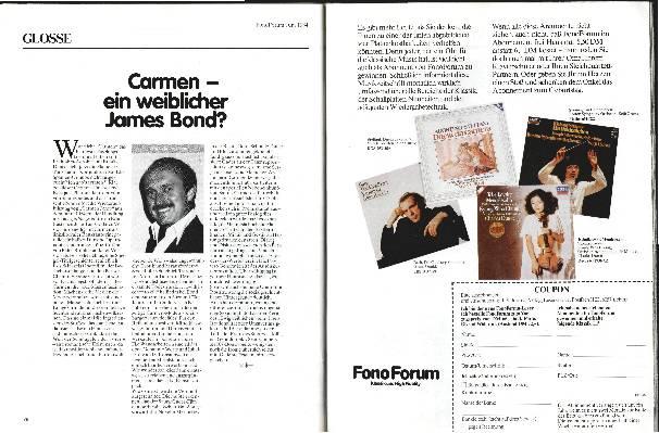 Carmen – ein weiblicher James Bond
