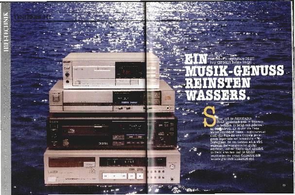 Ein Musikgenuss reinsten Wassers