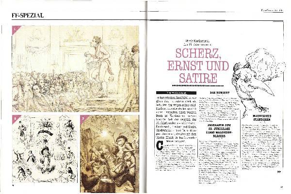 Scherz, Ernst und Satire