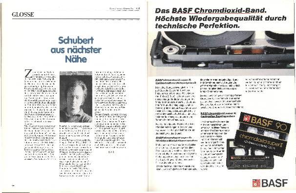 Schubert aus nächster Nähe
