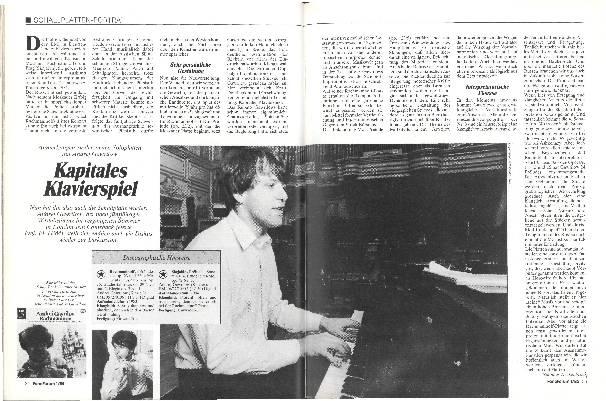 Kapitales Klavierspiel