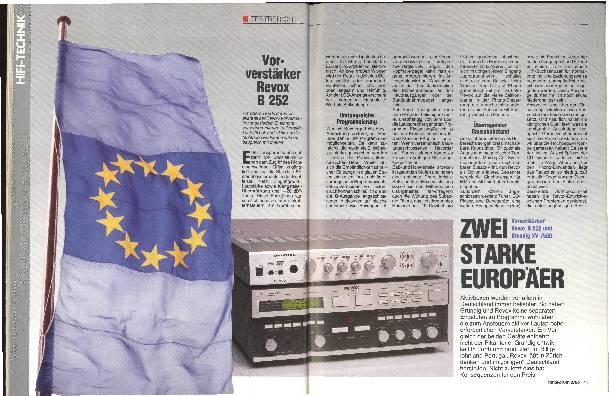 Zwei starke Europäer