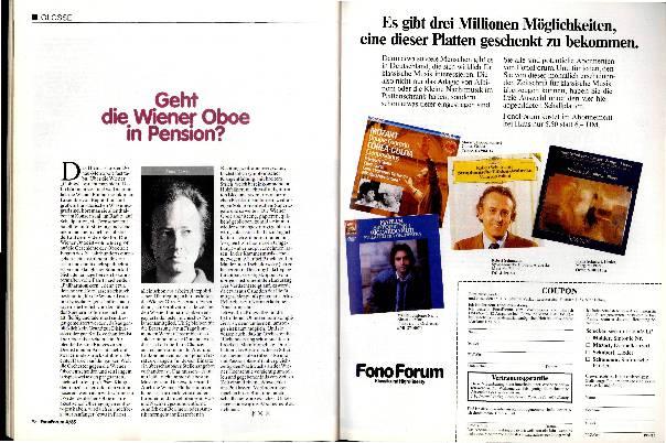 Geht die Wiener Oboe in Pension?