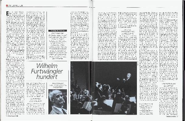 Wilhelm Furtwängler Hundert