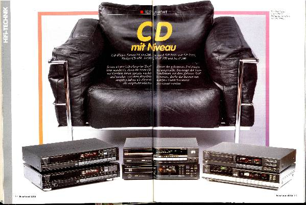 CD mit Niveau