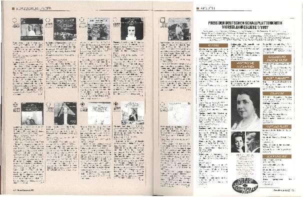 Preis der Deutschen Schallplattenkritik 1/1987