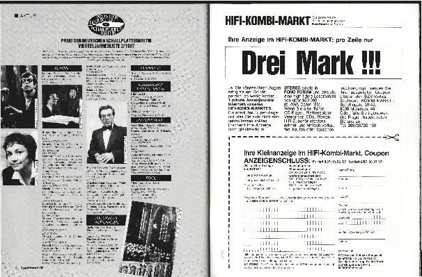 Preis der Deutschen Schallplattenkritik 2/1987