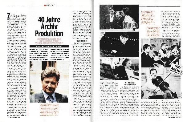 40 Jahre Archiv-Produktion