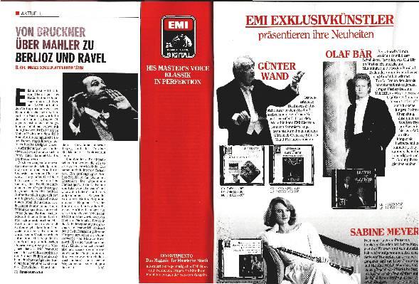 Von Bruckner über Mahler zu Berlioz und Ravel