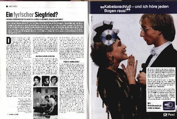 Ein lyrischer Siegfried?