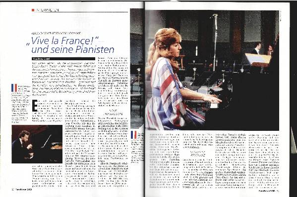 Vive la France! - und seine Pianisten